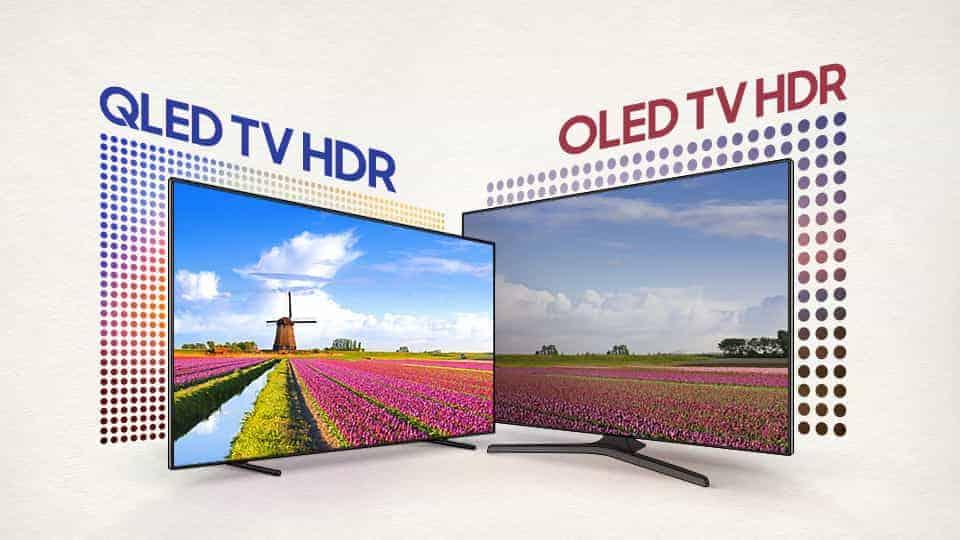 Qled Vs OLED TV