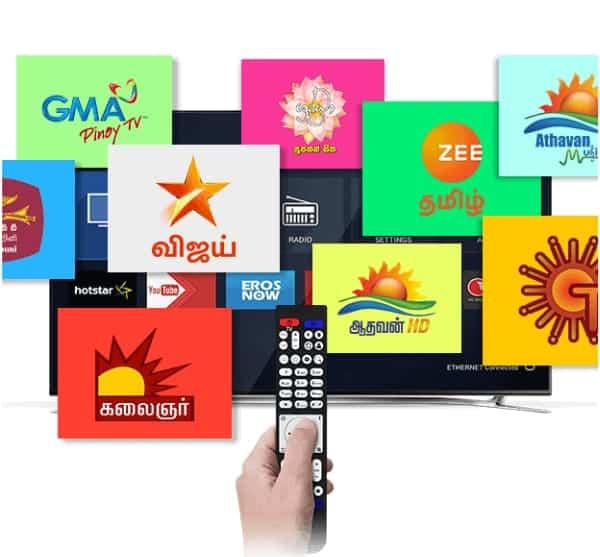Asian satellite tv