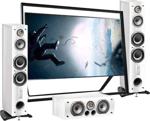 TV Aerials Chesterfield offer Home Cinema Systems