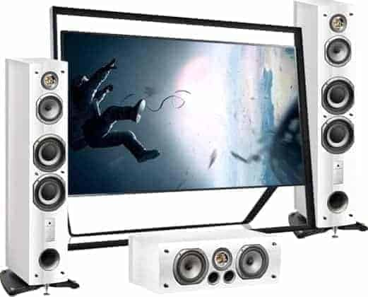 TV Aerials Diseworth offer Home Cinema Systems